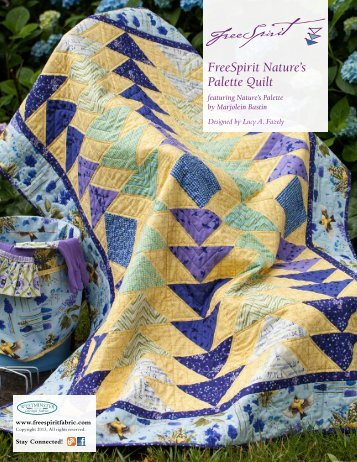 FreeSpirit Nature's Palette Quilt - Westminster Fibers, Inc