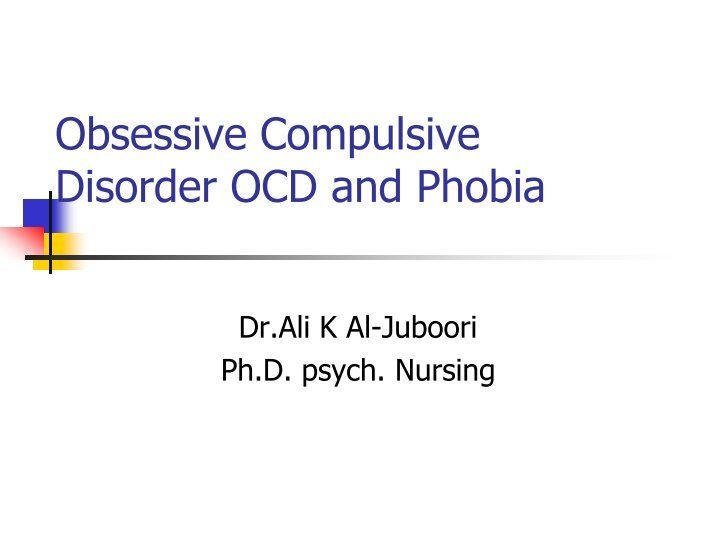 """obsessiveâ """"compulsive disorder and dr jim chandler Obsessive-compulsive disorder (ocd) by jim chandler, md, frcpc luvox dosage for severe ocd 2018 35 out of 5 based on 246 immediate release, jim chandler."""