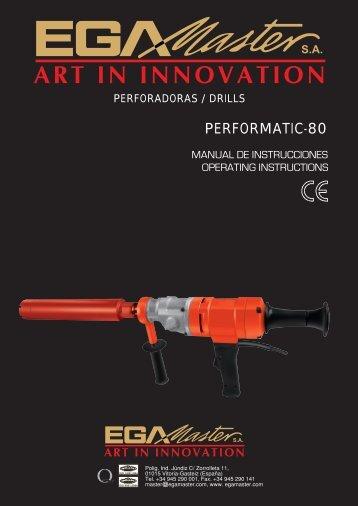 PERFORMATIC-80 - Ega Master