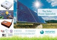 The Solar Power Specialists - Metartec