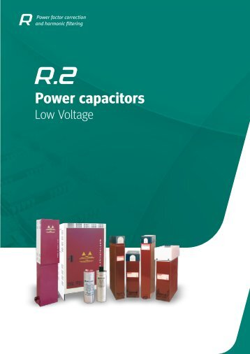 Metartec e3's Power Capacitors (Low Voltage)