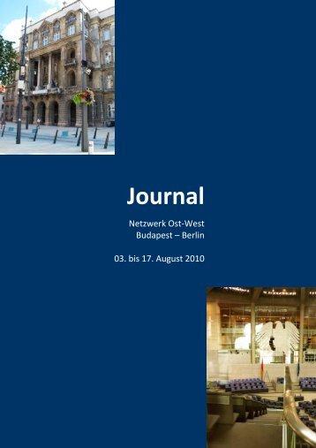 Journal - Heinrich - Humboldt-Universität zu Berlin