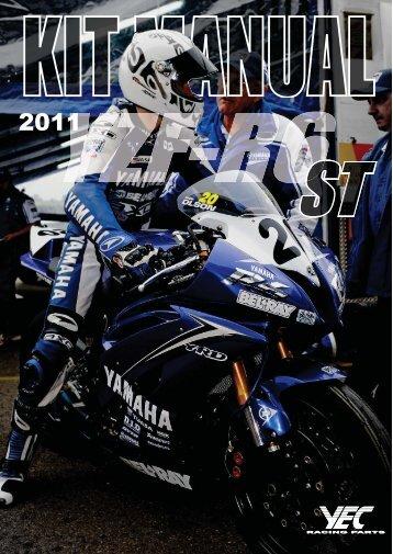 5 '11 YZF-R6 キットパーツ 部品番号互換表 - Yamaha Racing Parts