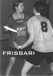 Frisbari 4/1998 - Ultimate.fi