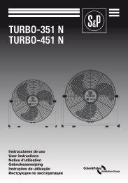 TURBO-351 N TURBO-451 N - Soler & Palau