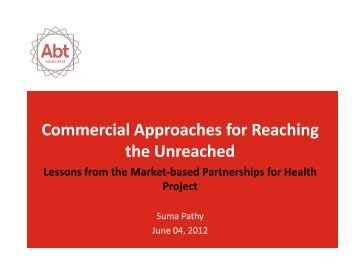 Suma Pathy_Lessons from MBPH.pdf - SHOPS project