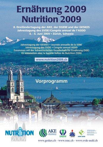 Vorprogramm - DGEM
