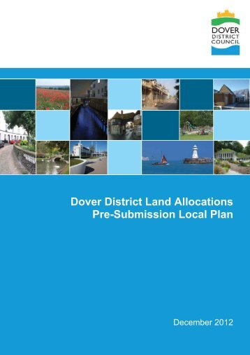 Land Allocations Pre-submission Local Plan Chapters 1 to 4