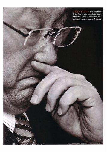 Do céu ao inferno. Líder Mundial na produção - Lean Institute Brasil