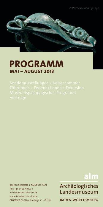 können Sie das aktuelle Programm downloaden - Archäologisches ...