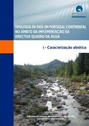 tipologia de rios em portugal continental no âmbito da ...