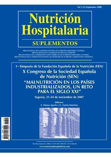 1st Symposium of the Spanish Foundation on Nutrition (FEN)