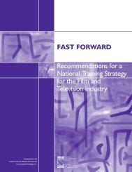 Fast Forward - Conseil des ressources humaines du secteur culturel