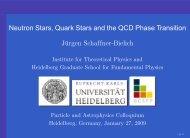 neutron stars - Universität Heidelberg