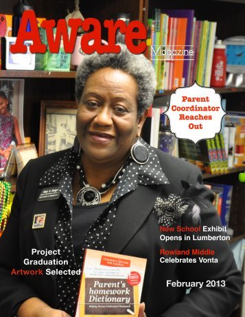Aware February Template - Public Schools of Robeson County