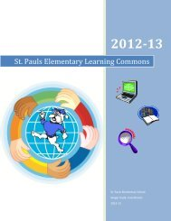 Learning Commons Handbook