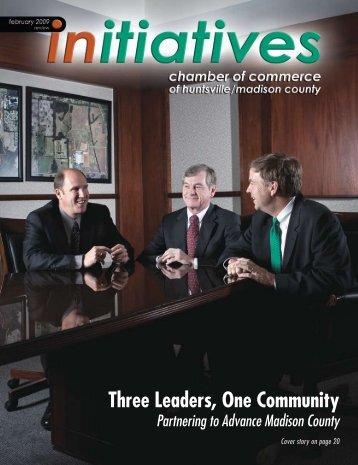 Three Leaders, One Community - Huntsville/Madison County ...