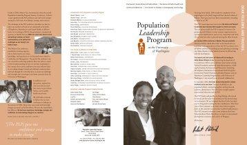 Adobe PDF - Population Leadership Program - University of ...