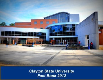 2012 - Clayton State University
