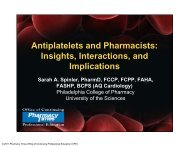 Antiplatelets and Pharmacists - Pharmacy Times