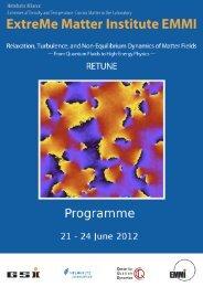 Turbulence and Bose Condensation - Institut für Theoretische ...