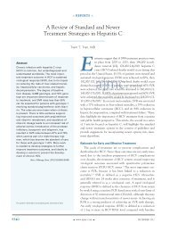 A review of Standard and Newer Treatment ... - Pharmacy Times