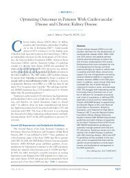 Optimizing Outcomes in Patients With cardiovascular disease and ...