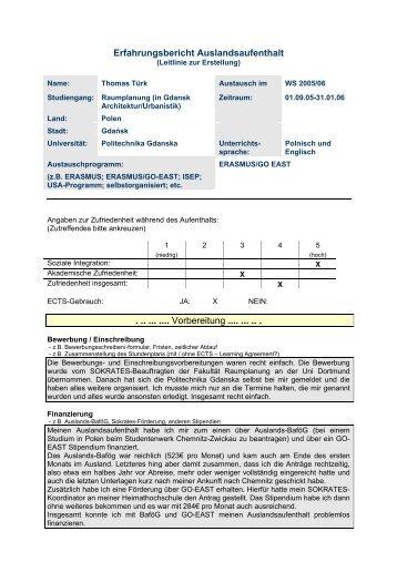 Erfahrungsbericht Auslandsaufenthalt Vorbereitung