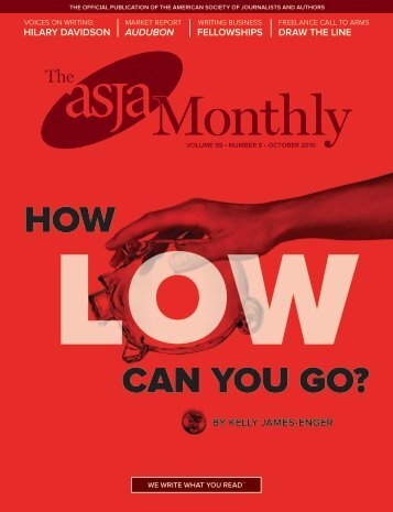 October 2010 - The ASJA Monthly