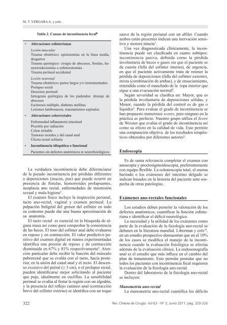 INCONTINENCIA FECAL DEL A