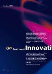 Don't Leave Innovati ont