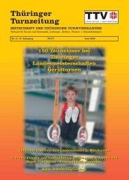 Juni 2008 - Thüringer Turnverband eV