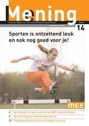 Sport - MEE Zuidoost Brabant