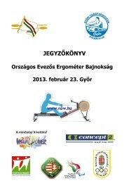 Ergo OB jegyzőkönyv - Ferencvárosi Evezős Club