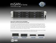 Download miSAN® D Series Specifications - Layer 3 Technologies