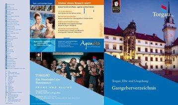 Gastgeberverzeichnis - Torgau-Informations-Center