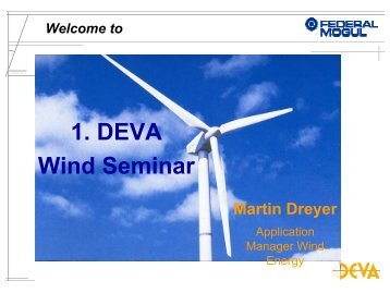 1. DEVA Wind Seminar Martin Dreyer - Supresores