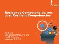 Residency Competencies, not Just Resident Competencies - AAMC