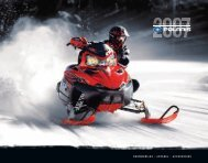 SNOWMOBILES • APPAREL • ACCESSORIES - Polaris