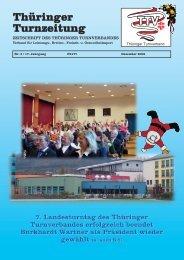 Turnzeitung Dez 06 - Thüringer Turnverband eV