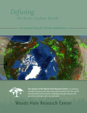 Defusing the Arctic Bomb - Woods Hole Research Center