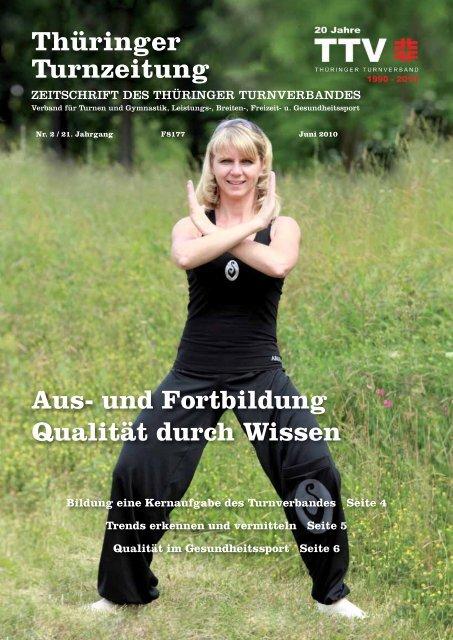 Juni 2010 - Thüringer Turnverband eV