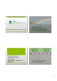 Skript - Informationszentrum für Tibetische Medizin