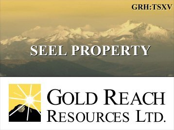 SEEL PROPERTY - Minerals North