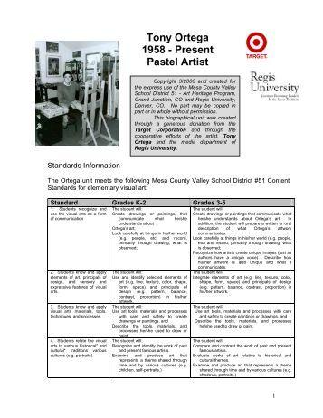 Tony Ortega 1958 – Present Pastel Artist - Art Heritage