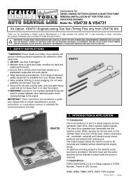 important: please read these instructions carefully ... - CCW-Tools