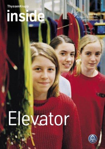 Asien: Neue Internetauftritte - ThyssenKrupp Elevator AG