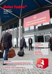Roter Faden Ausgabe 05 2013 - SPD-Ortsverein Sehnde