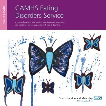 Eating Disorders Service Booklet - SLaM National Services