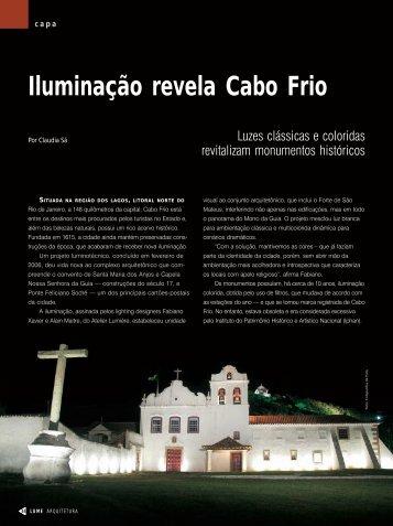 Iluminação revela Cabo Frio - Lume Arquitetura